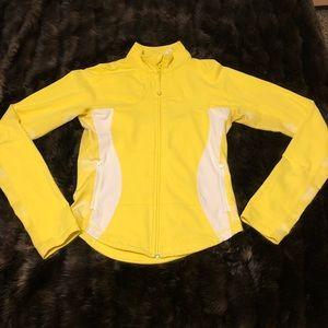 Yellow Lululemon Zip-up size 8